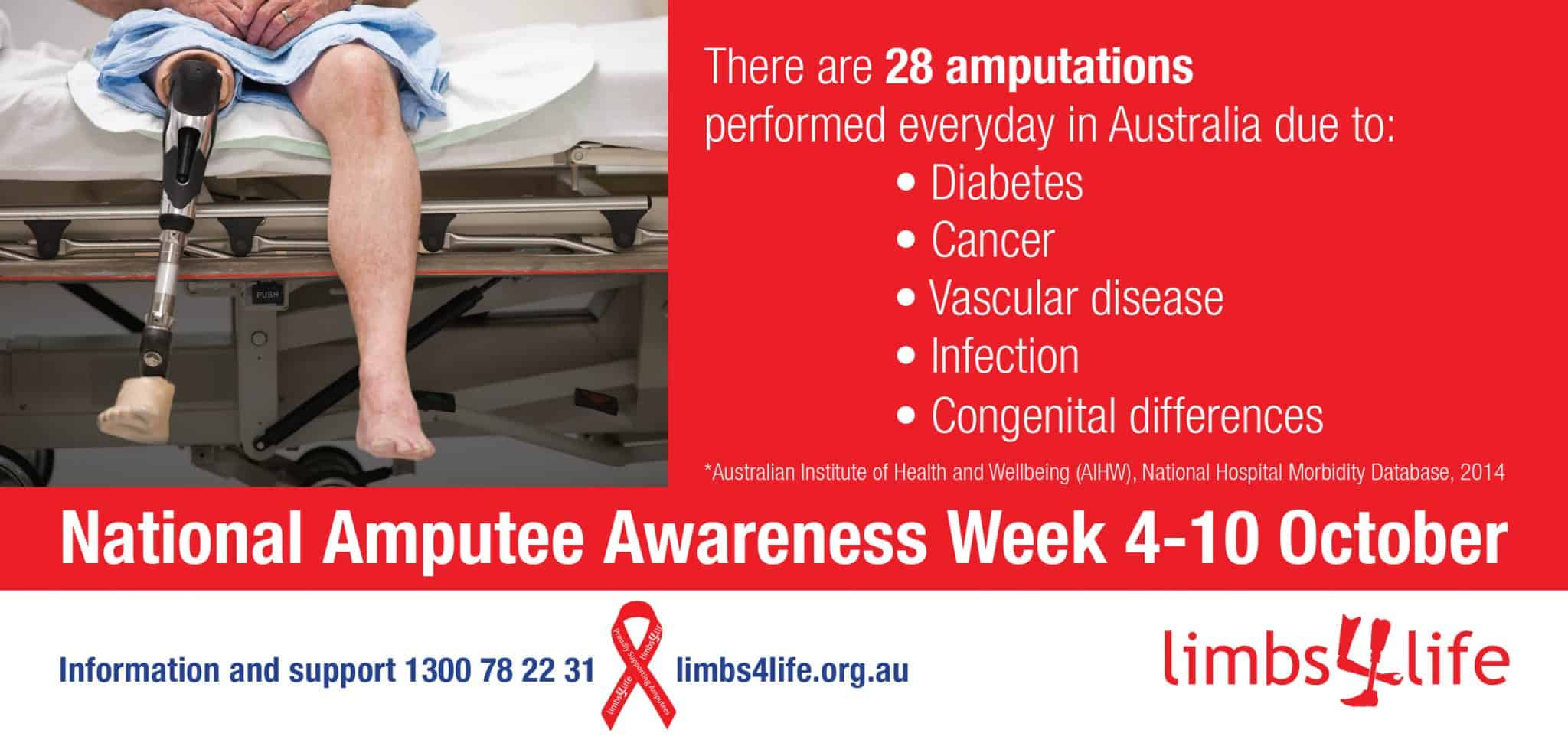 Get Your Ribbon On: National Amputee Awareness Week |