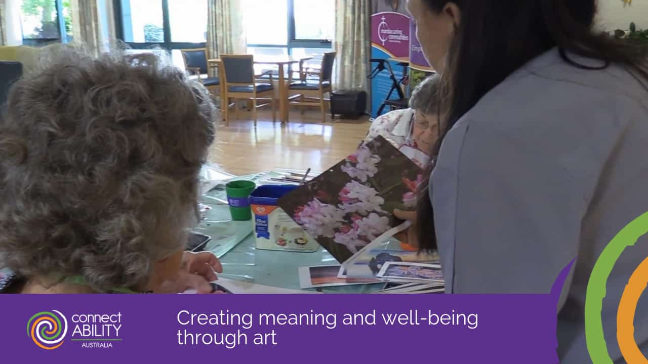Creating meaning and well-being through art