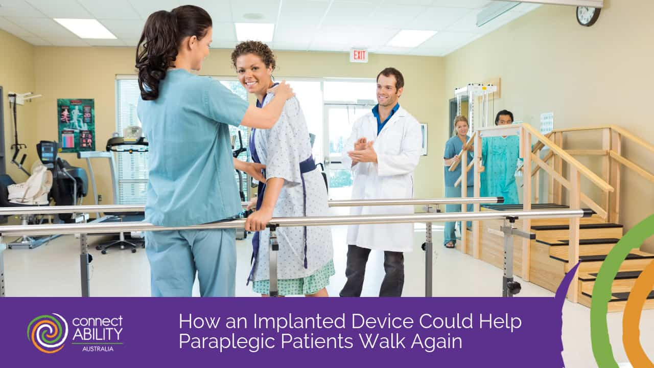 How an Implanted Device Could Help Paraplegic Patients Walk Again