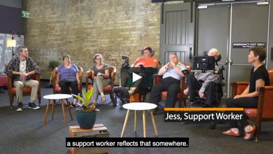 National Disability Services Launch 'Positive Culture' Films - Exploring Video 5, Structured Opportunities | National Disability Service