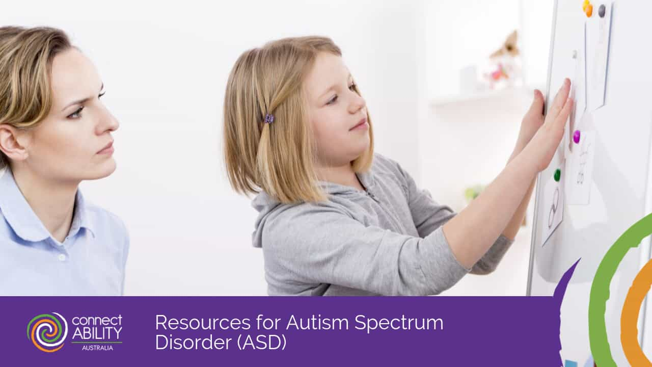 Resources for Autism Spectrum Disorder (ASD)