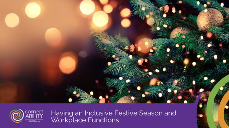 Having an Inclusive Festive Season and Workplace Functions
