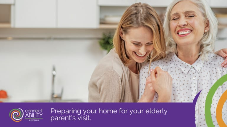 Preparing your Home for your Elderly Parent's Visit