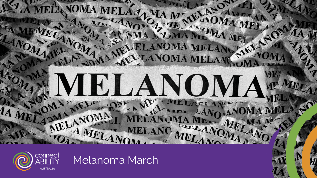 Melanoma March, disability services, aged care support, in home aged care, family counselling