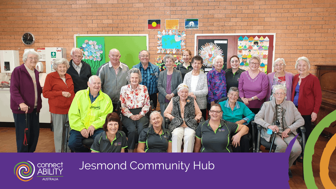Jesmond community hub Disability Services & Aged Care Support - ConnectAbility