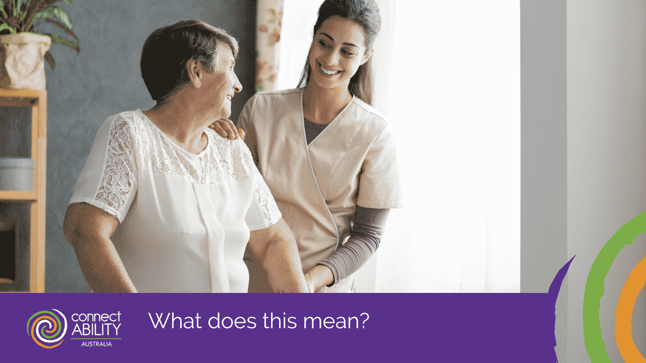 In Home Care, what is really covered under NDIS? |