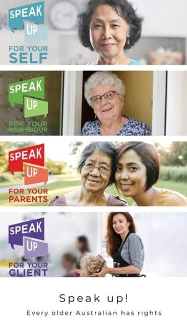 Speak up - Disability Services & Aged Care Support - ConnectAbility