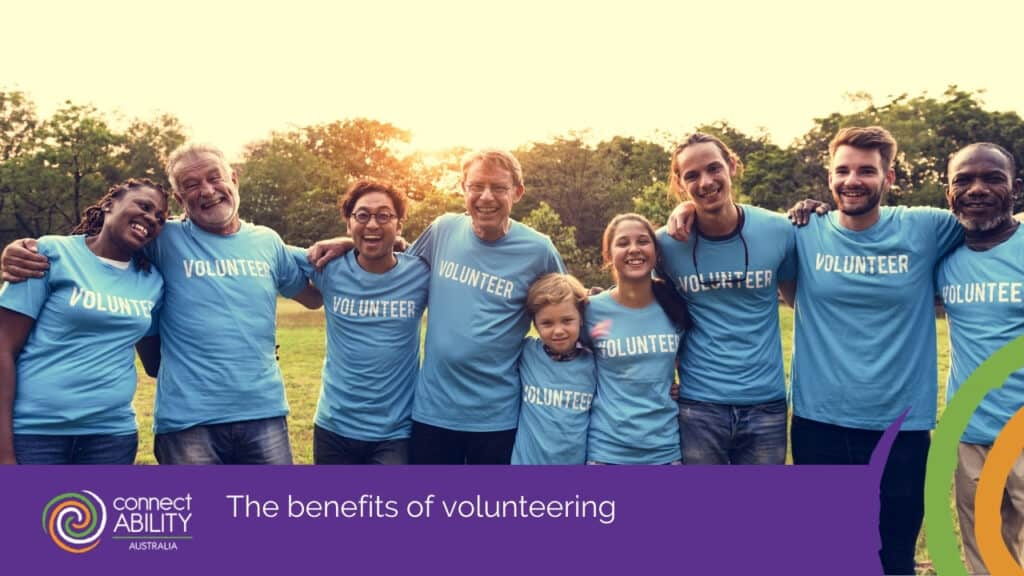 Help more in your community through volunteering |