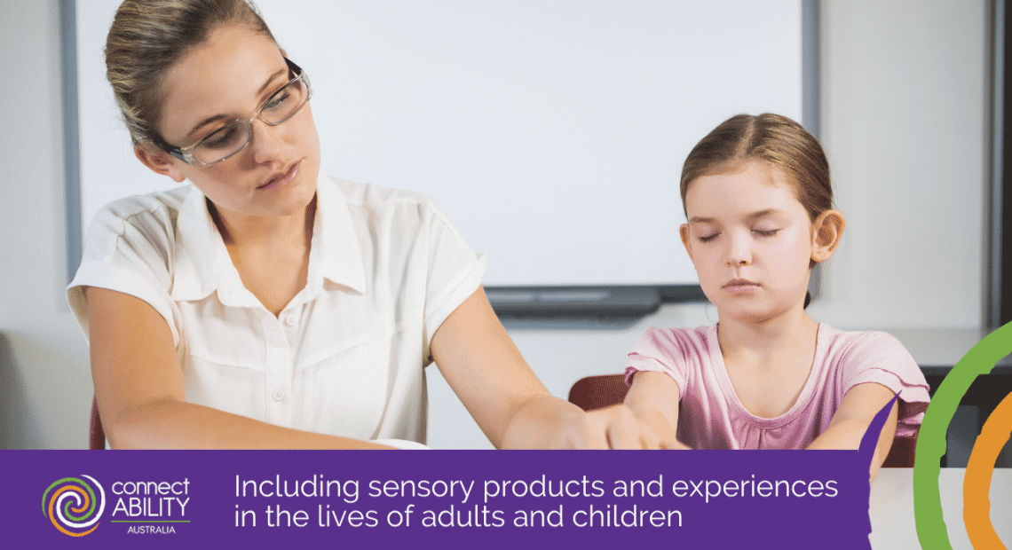 Including sensory products and experiences in the lives of adults and children