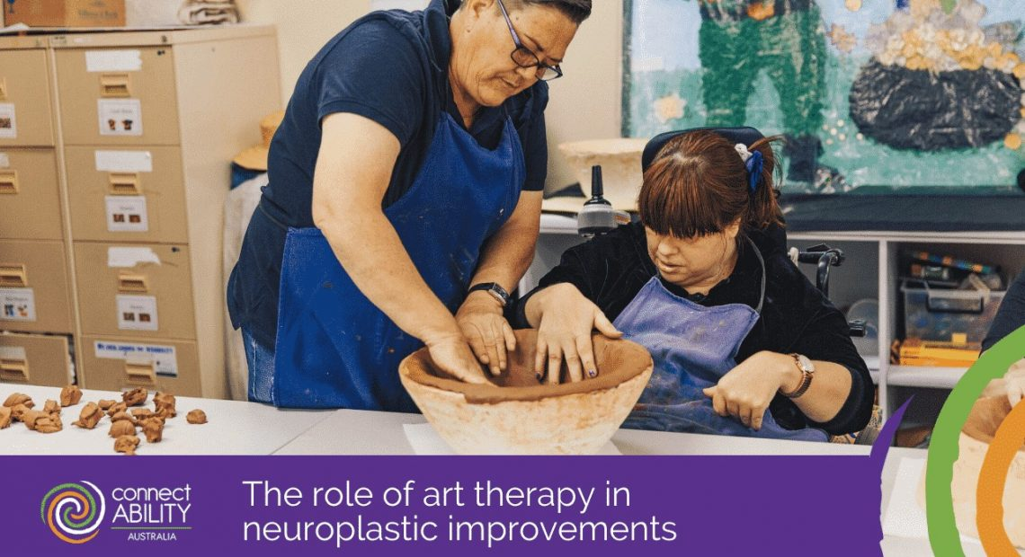 The role of art therapy in neuroplastic improvements
