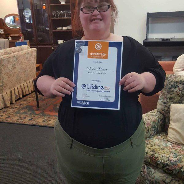 Volunteer Certificate - Donations & Partnerships